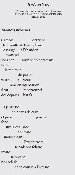 Parcourir Ensemble Le Territoire Poétique Magazine Spirale